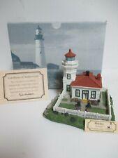 "New listing Harbour Lights ""Mukilteo"" Washington #178 - Miob w/Coa & Name Tag! Retired!"
