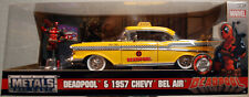 Jada Toys 30290 Deadpool & 1957 Chevrolet Bel Air Taxi + Figur Marvel 1:24