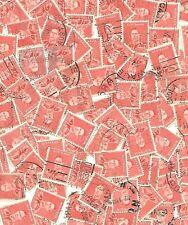 BULK Australia Pre-Decimal  1937 KGV1 2d red x 100, good used/ fine used