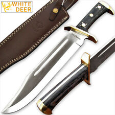 WHITE DEER D2 Steel Extreme Duty XXL Bowie Knife Large Independent Survival D-2
