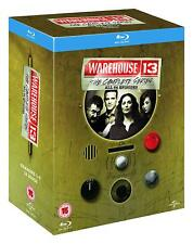 Warehouse 13: The Complete Series [Blu-ray Region Free, Seasons 1 2 3 4 5] NEW