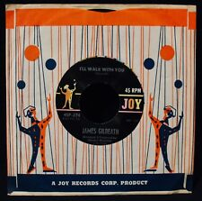 JAMES GILREATH-Little Band Of Gold+I'll Walk With You-Near Mint 45-JOY #45P-274