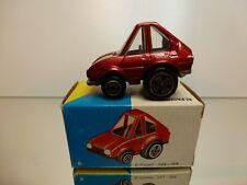 POLISTIL MG27 ALFA ROMEO ALFASUD - RED L5.0cm - GOOD CONDITION IN BOX