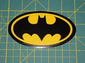 DC Comic Batman Classic Logo Decal Licensed Brand New in Stock