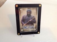 The Walking Dead  Autograph Card Tyreese Williams Chad L. Coleman Season 5