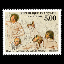 France 1989 - Painting by J. L. David - Sc 2160 MNH