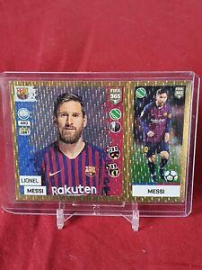 Lionel Messi Barcelona Fifa 365 2019 Panini Foil Sticker