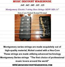 Music Discount Warehouse Montgomery 5 string Bass guitar strings