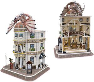 Harry Potter Daigon Alley Gringotts 3D Puzzle