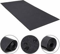 2.5'x 5'Heavy Duty Equipment Mat for Indoor Cycles Recumbent Bikes Upright Bike