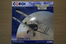 CORGI AVIATION 1:48 SOPWITH CAMEL F.1 B6313 MAJOR WILLIAM GEORGE BILLY BARKER