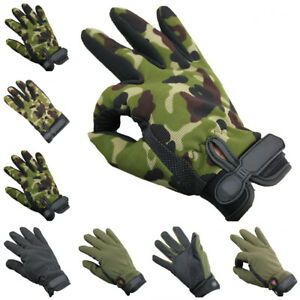 New Full-finger Riding Gloves Cycling Bicycle Motorcycle Workout Mountain Sports