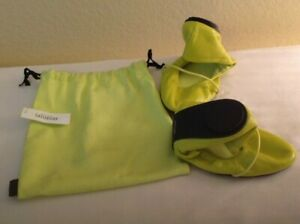 NEW With Tags NWT Kate Spade Saturday Roll Up Ballet Flats Chartreuse Size 6 Bag