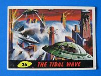 1962 TOPPS MARS ATTACKS CARD #26 ~ THE TITLE WAVE ~ EX/EX+