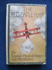 THE RED BATTLE FLYER by CAPT. VON RICHTHOFEN - 1st American Edition in Jacket