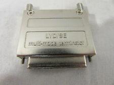 Lot of 2 External C68 SCSI Ultra 320 LVD/SE Terminator & Multi-Mode Terminator