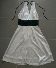 Bebe Sydney Ladies Dress Silver and Black Womens Size 8 - Excellent Condition