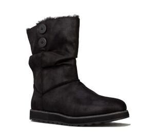 Skechers Womens Keepsake 2.0 Upland Memory Foam Mid Calf Slip On Casual Boot
