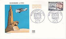 Enveloppe maximum 1er jour FDC 1967 - Aviation Nungesser & Coli