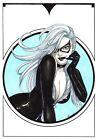 Black Cat original comic art by Nathalie (08