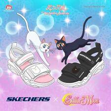 Sailor Moon X Skecher Casual Summer Artemis White Color Size 9 Us