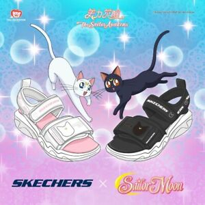 Sailor Moon X Skecher Casual Summer Artemis White Color Size 8 Us
