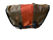 Timbuk2 Messenger Bag w/ Laptop Compartment Brown/Orange 17x13