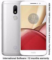 "Motorola Moto M XT1662 5.5"" Android 2.2GHz Octa Core 4GB RAM 32GB 16MP Camera"