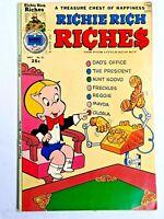 Vintage 1975 RICHIE RICH  RICHES  #21 comic book Harvey Comics