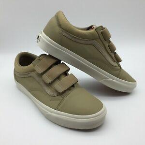 "Vans Men/Women's Shoes ""Old Skool V"" -- (Leather) Ballistic/Corns"