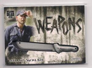 WALKING DEAD HUNTERS & HUNTED SHANE WALSH COMMEMORATIVE MACHETE MEDALLION CARD