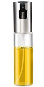 Spruzzatore spray per olio e aceto dosatore in acciaio e vetro oliera 100 ml