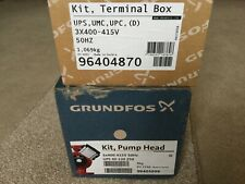 GRUNDFOS UPS 40-120 250 REPLACEMENT PUMP HEAD 96405999 AND TERMINAL BOX 96404870