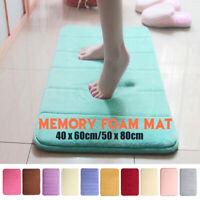 Bath Rug Absorbent Memory Foam Bathroom Bedroom Kitchen Floor Shower Non-slip AU