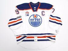 McDAVID EDMONTON OILERS AWAY NHL 100th ANNIVERSARY REEBOK EDGE 2.0 7287 JERSEY