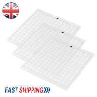 """3pack 12"""" Replacement Cutting Mat Transparent Adhesive Grid for Silhouette Cameo"""