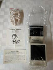 1985 Vintage Whirlpool Telephone w/ Box, Original Papers, and Cord
