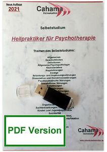 HEILPRAKTIKER PSYCHOTHERAPIE Unterlagen Studium Prüfungsvorbereitung USB-Stick