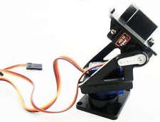 FPV Braket Kit 9g Servo Plataforma giratoria 2-ejes SG90 MG90