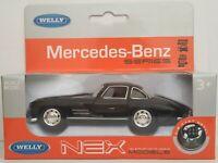 1/34 1/39 MERCEDES BENZ 300 SL 300SL COCHE METAL ESCALA SCALE CAR DIECAST 1/32