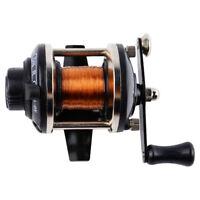 Lightweight Metal Ice Fishing Reel Fishing Saltwater Smooth Fishing Wheel