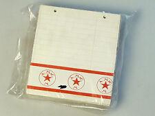 (PRL) A.M.&C. M RICAMBIO RUBRICA TELEFONO BLOCK NOTES 2 ANELLI 13 x 15 CM LOTTO