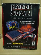 SEALED NOS 2006 Mattel Hyperscan Video Game System Console + X-Men Game Pack