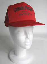 Captain Morgan Original Spiced Rum Red Mesh Trucker Cap Hat Snap Back