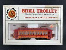 Bachmann Brill Trolley South Shore Engine Locomotive MIB Vintage