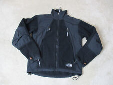 The North Face Jacket Size Womens Extra Small Black White Full Zip Coat Ladies