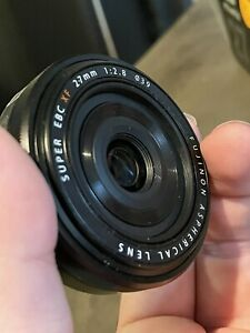 Fujifilm Fujinon XF 27/2.8 Lens - Black
