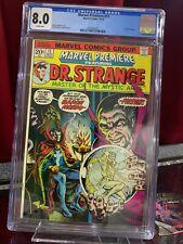 Marvel Premiere #11 CGC 8.0, HUGE KEY DR. STRANGE becomes Sorcerer Supreme 1973