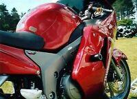 R&G Black Classic Style Crash Protectors for Honda CBR1100 Blackbird All Years