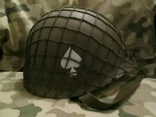 WW2 US 101st Airborne Helmet with Net (Band of Brothers/Saving Private Ryan).